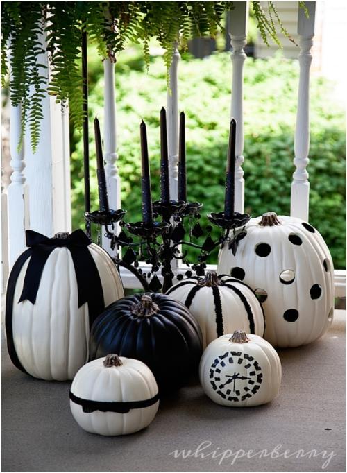 Black-White-Halloween-Pumpkins-for-The-Great-Pumpkin-Challenge